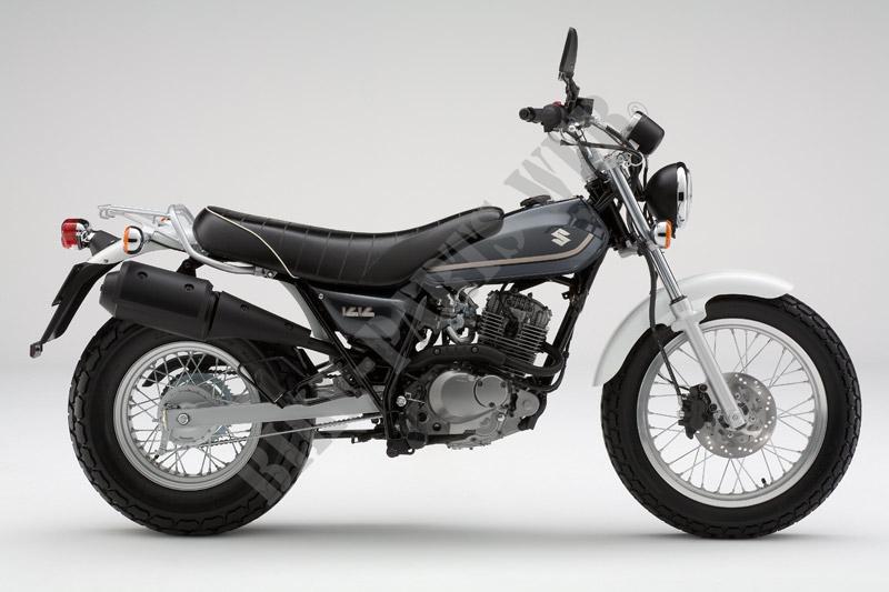 x photographie de couleur rv125k8 x informations rv125l0 e19 2010 van van 125 moto suzuki moto. Black Bedroom Furniture Sets. Home Design Ideas
