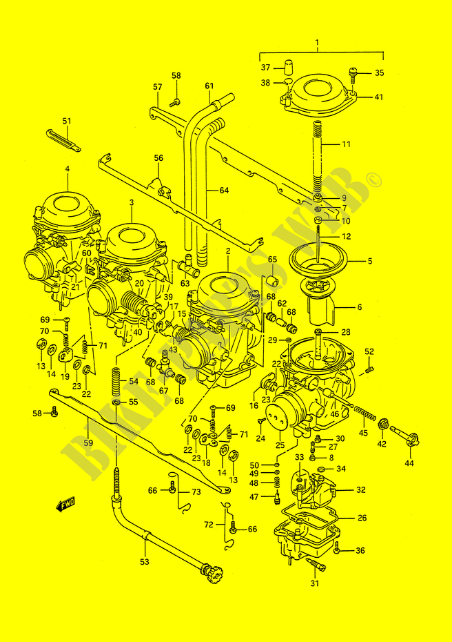 joint carburateur moto suzuki