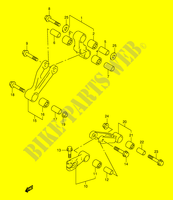 BIELLETTE DE SUSPENSION ARRIERE SUSPENSIONS/FREINAGE/ROUES 1000 suzuki-moto TL-S 1998 DP024332