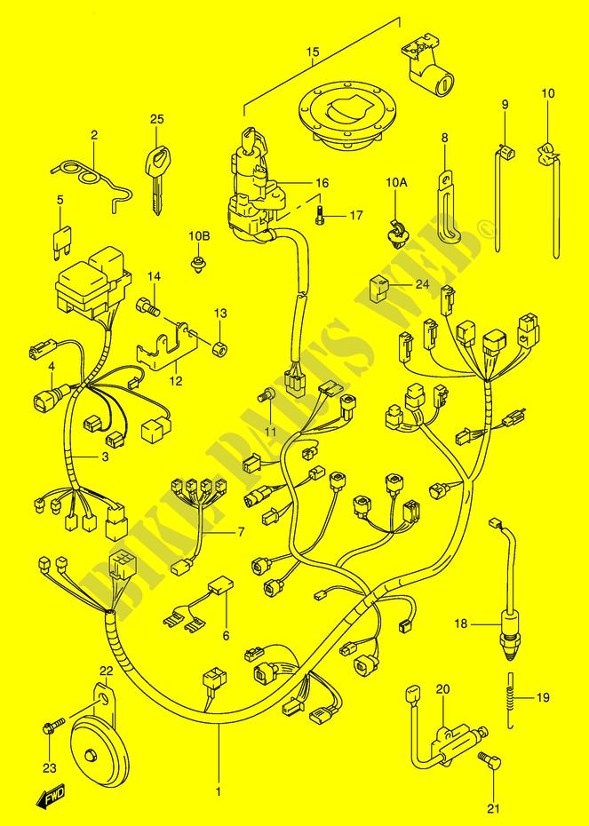 Faisceau Electrique Pour Suzuki Tl