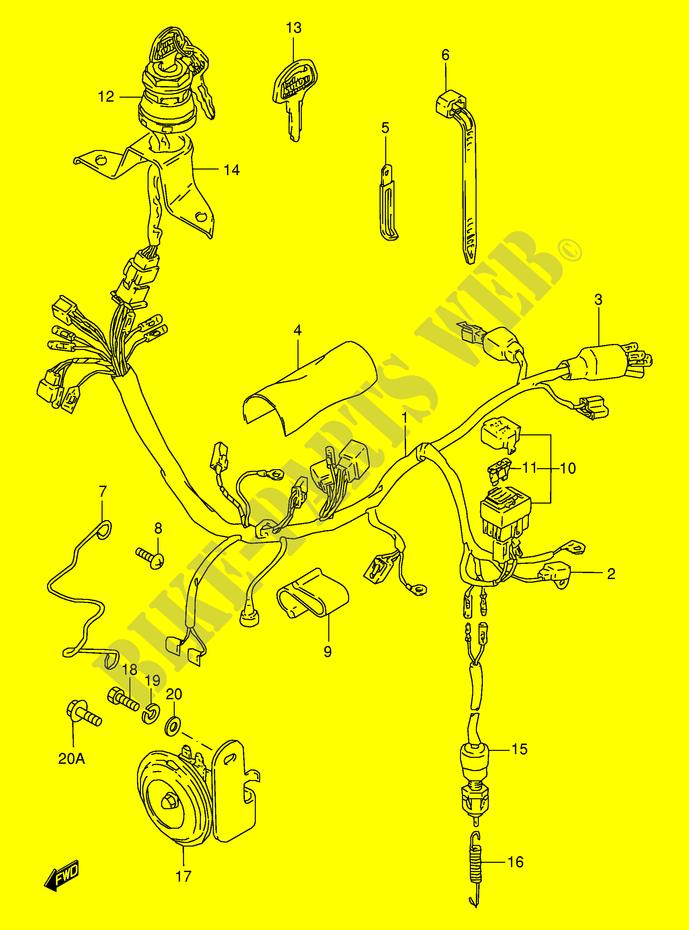 Faisceau Electrique Pour Suzuki Ts
