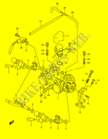 ENSEMBLE INJECTION pour Suzuki BURGMAN 650 2003
