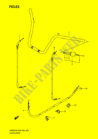 GUIDON (MODEL K6/K7/K8) pour Suzuki  de 2009