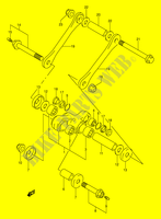 BIELLETTE DE SUSPENSION ARRIERE pour Suzuki DR 250 1991