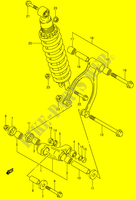 BIELLETTE DE SUSPENSION ARRIERE pour Suzuki DR 650 1996