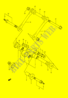 BIELLETTE DE SUSPENSION ARRIERE pour Suzuki DR 350 1993