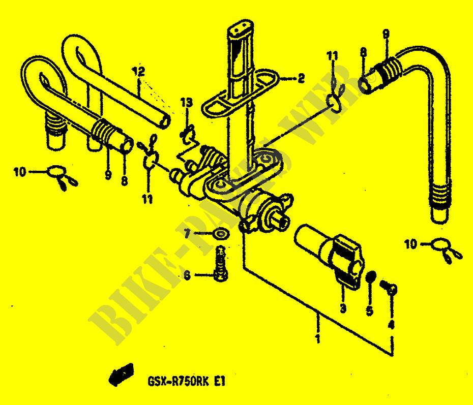 robinet ess gsx r750rk k 1989 gsx r750rk gsxr 750. Black Bedroom Furniture Sets. Home Design Ideas