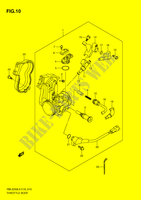 ENSEMBLE INJECTION pour Suzuki RM-Z 250 2010