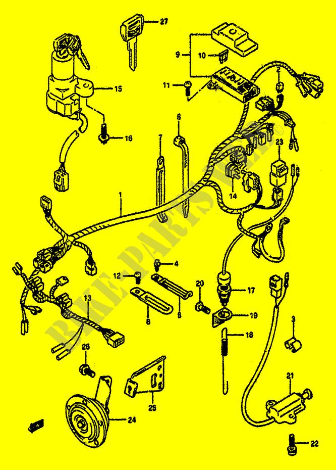 Faisceau Electrique Pour Suzuki Gsx