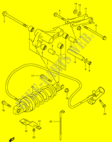 BIELLETTE DE SUSPENSION ARRIERE (MODELE Y) SUSPENSIONS/FREINAGE/ROUES 400 suzuki-moto BURGMAN 2002 DP065478