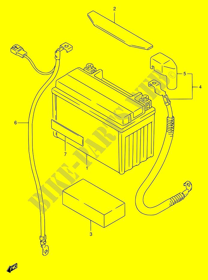 1998 Suzuki 600 Bandit Wiring Diagram